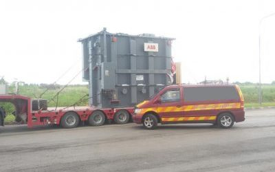 HEAVY TRANSFORMATORS DELIVERY FROM ESTONIA TO BELARUS