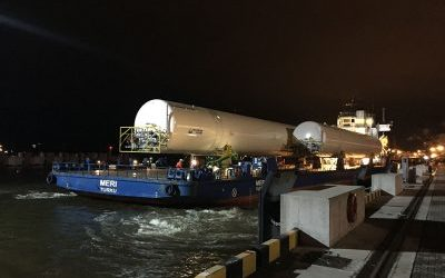 TRANSPORTATION OF 5 LIQUEFIED NATURAL GAS TANKS